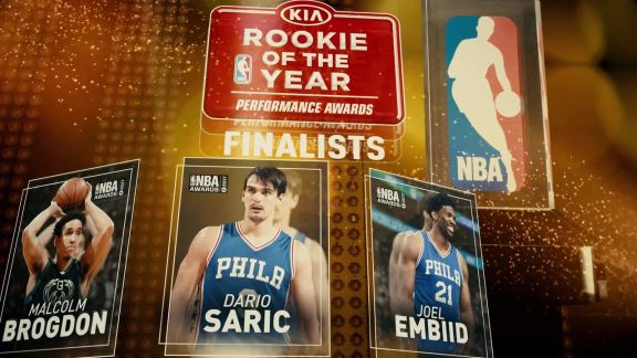 2017 NBA Awards: Rookie of the Year Nominees