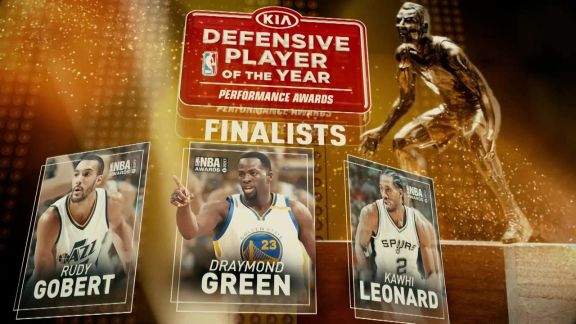 2017 NBA Awards: Defensive Player of the Year Nominees