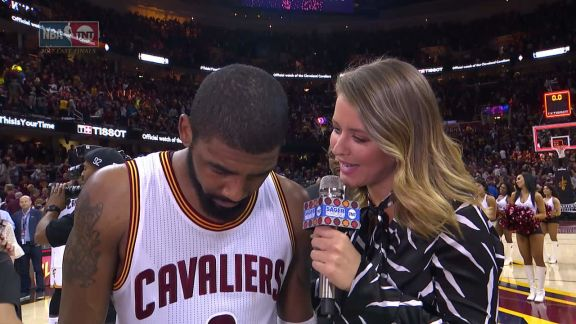 Kyrie Irving Postgame Interview