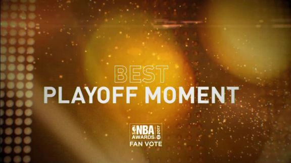 2017 NBA Awards: Best Playoff Moment Nominees