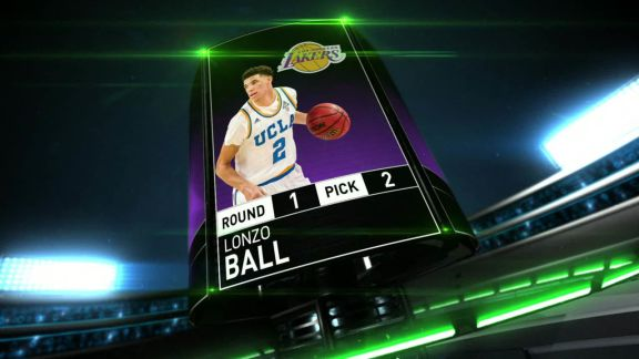 2017 NBA Draft Pick 2 Instant Analysis: Lonzo Ball