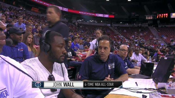 John Wall Talks Wizards