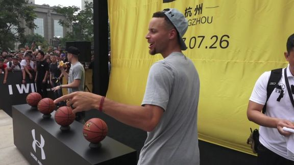 Stephen and Seth Curry Tai Chi