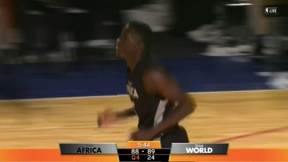NBA Africa Game 2017: Oladipo Highlights