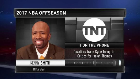 Breaking News: Kenny Smith On Irving-Thomas Trade