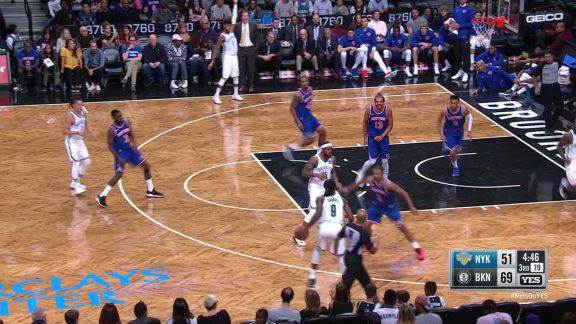 Russell Steals And Scores