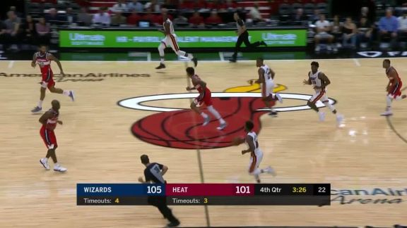 Winslow To Adebayo For The And-One