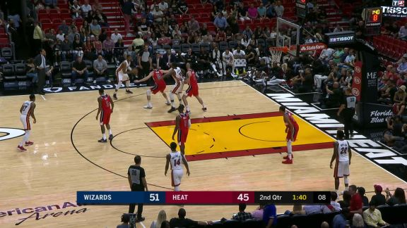 McGruder To Adebayo For The Alley-oop