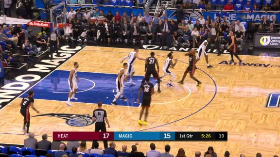 Waiters To Whiteside For The Oop