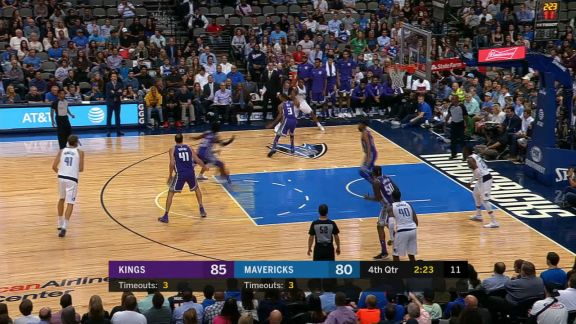 Barnes Hits The Reverse For The And-1