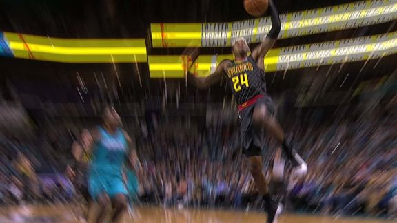 Bazemore Steals and Dunk
