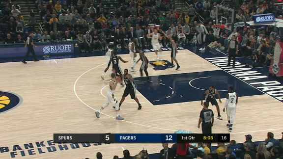 Oladipo with the Pump Fake