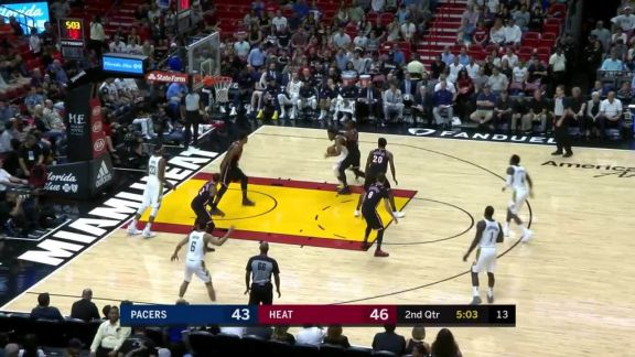 Whiteside Block And Dunk