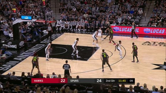 Belinelli To Collins Dunk