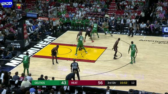 Whiteside With The Rejection