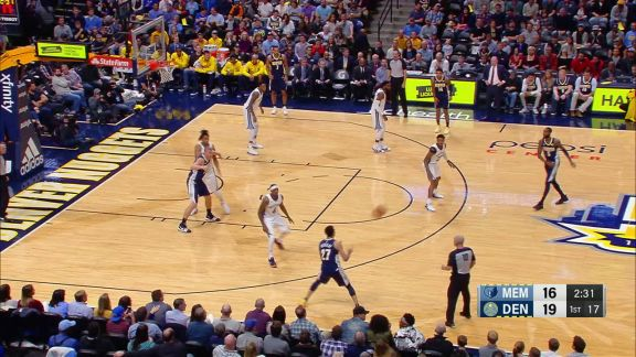 Lyles Connects From The Corner