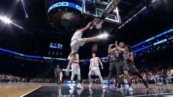 Plumlee Flushes It Home