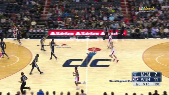 Wall Assists Gortat