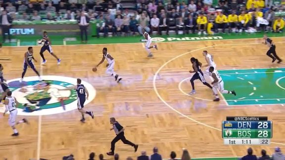 Tatum Crosses To The Hoop