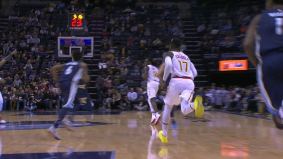 Schroder Hits The Fadeaway