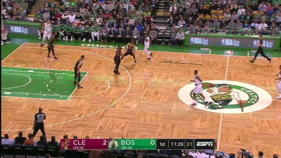 Irving's Jumper Draws Contact