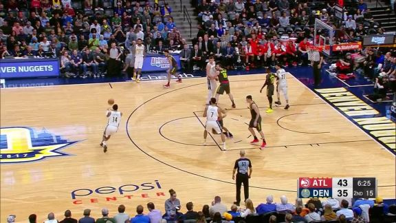 Bazemore With The Rejection