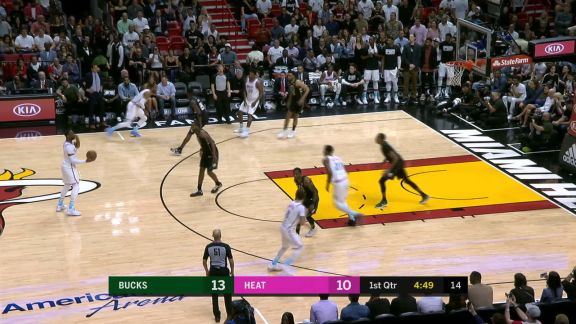 Whiteside Alley-Oop In Traffic