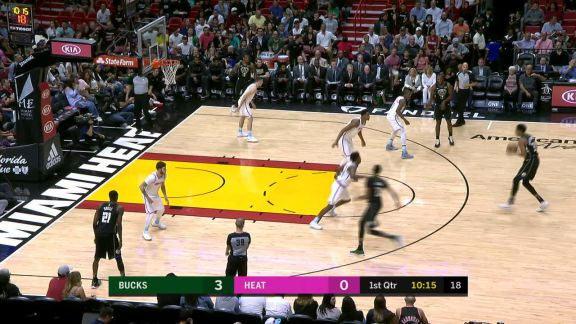Whiteside Stuffs Giannis