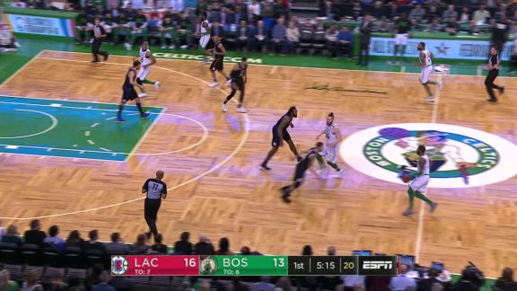Irving Hands Off To Baynes