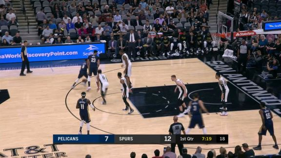 Rondo Crosses For The Layup
