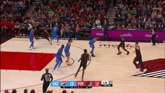 Damian Lillard With the Strong Finish