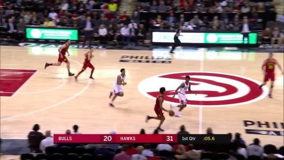 Muscala Three At Buzzer