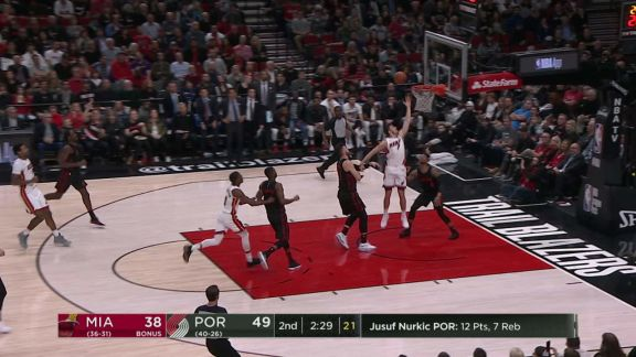 Dragic Spins To The Rim