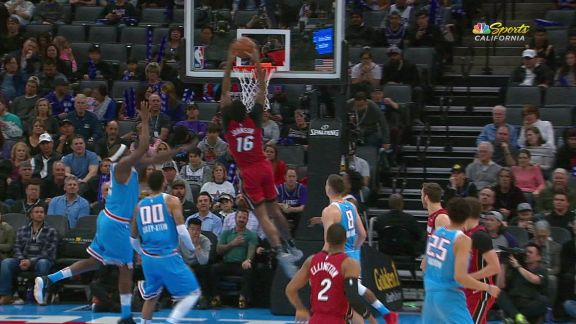 Johnson With The Dunk