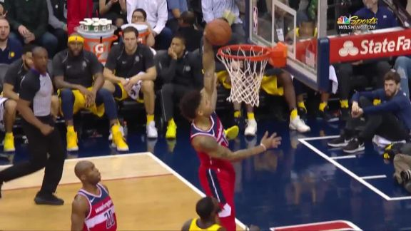 Oubre Jr. Finishes With The Slam
