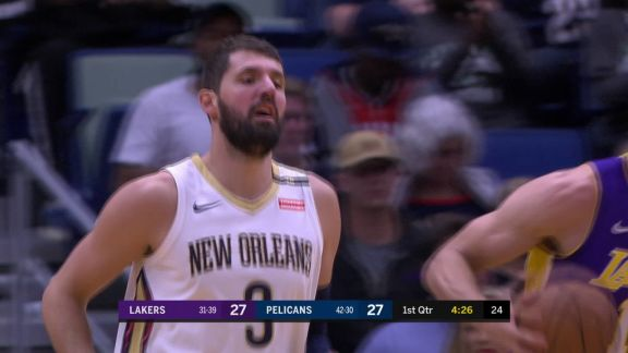 Mirotic Lays It In