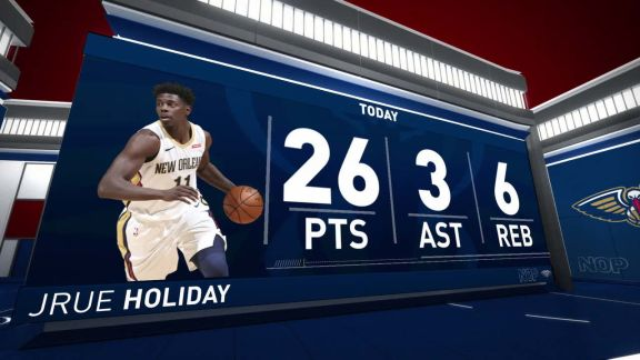 Jrue Holiday Scores 26 In Win Vs. Lakers | March 22nd, 2018