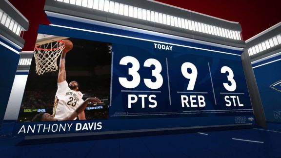 Anthony Davis Scores 33 In Win vs. Lakers | March 22nd, 2018