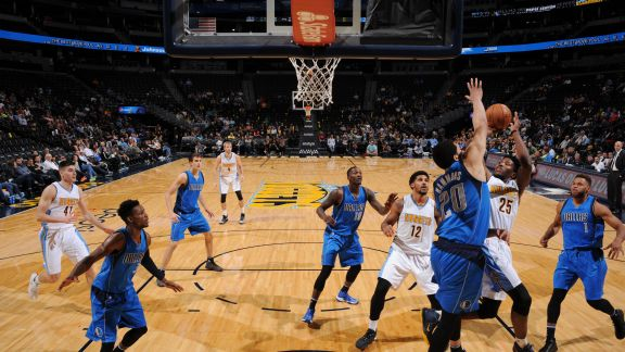 Danillo Gallinari Leads Nuggets to Win