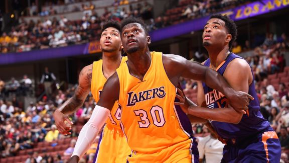 Highlights: Alex Len Leads Suns Past Lakers