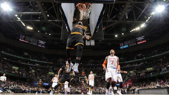 Cavs Open Season With Win Over Knicks - October 25, 2016