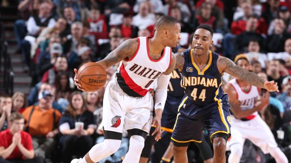 GAME RECAP: Trail Blazers 131, Pacers 109
