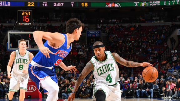 Steal of the Night - Isaiah Thomas