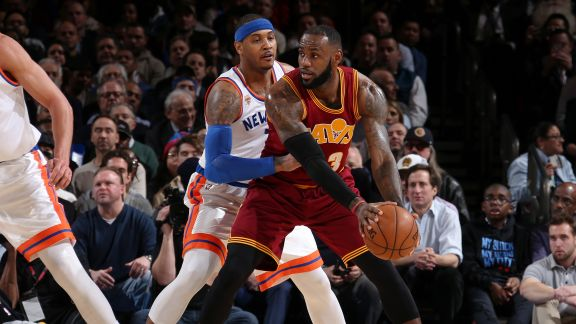 GAME RECAP: Cavaliers 126, Knicks 94