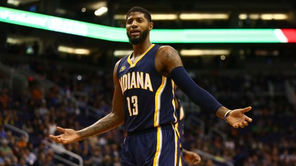 Paul George's Double-Double