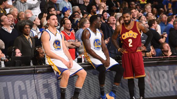 GAME RECAP: Warriors 126, Cavaliers 91