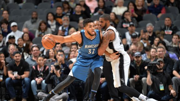 Towns' Monster Double-Double