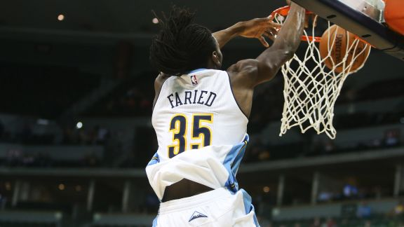 Faried's Dunk Spree