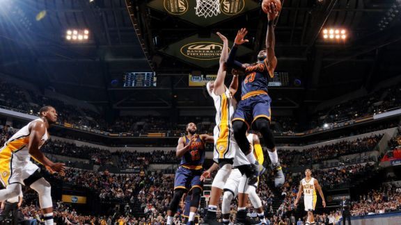 GAME RECAP: Cavaliers 132, Pacers 117