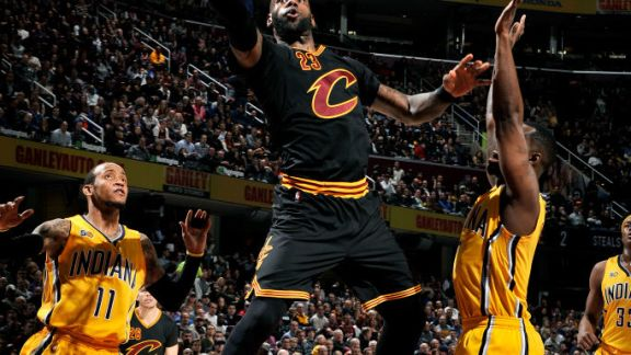 GAME RECAP: Cavs 113, Pacers 104